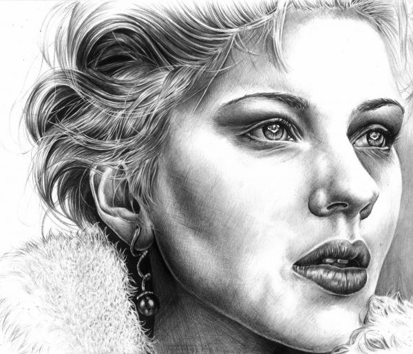 Scarlett Johansson par Cymbidium
